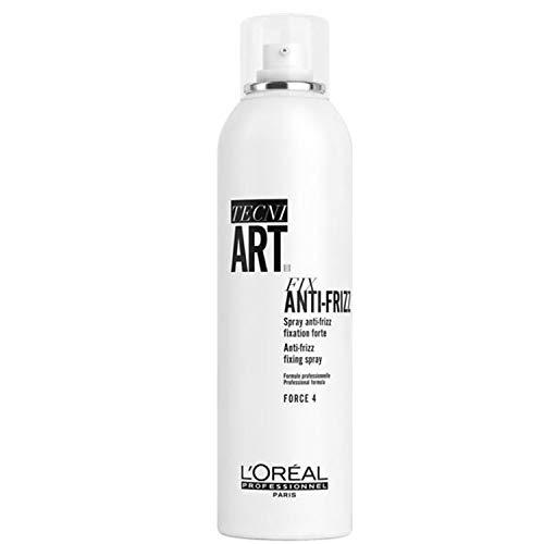 L\'Oréal Professionnel TecniART Fix Anti-Frizz fixing spray, Fixierendes Spray, Haltegrad 4, 400 ml