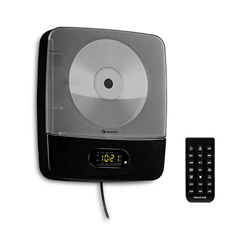 auna Vertiplay - Reproductor de CD , Bluetooth , Radio FM ,