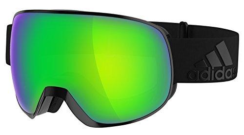 Adidas Brille Skibrille Googles ad82 PROGRESSOR S black matt 6055