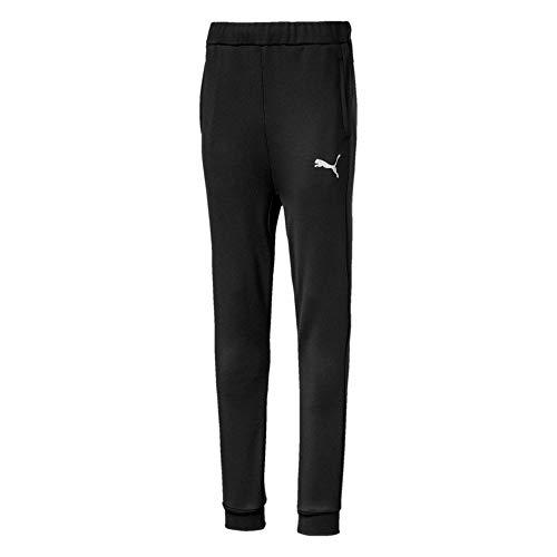 PUMA Jungen Active Sports Poly Pants cl B Jogginghose, Black, 152