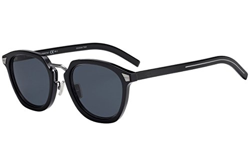 Dior Christian DiorTailoring1 gafas de sol w / 51mm gris lente azul 807IR Tailoring1 Adaptación de Tailoring1 1 / S DiorTailoring1 / S hombre Negro Grande