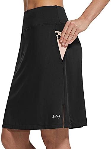 BALEAF Women's 20″ Knee Length Skorts...