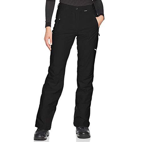 Icepeak Noelia Damen Stretch Skihose Übergrößen Kurzgrößen, schwarz, 48
