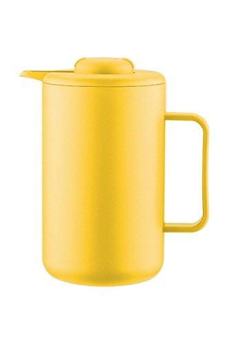 Bodum BISTRO thermoskan 1,0 L geel kunststof roestvrijstalen kern A11568-XYB-70-4