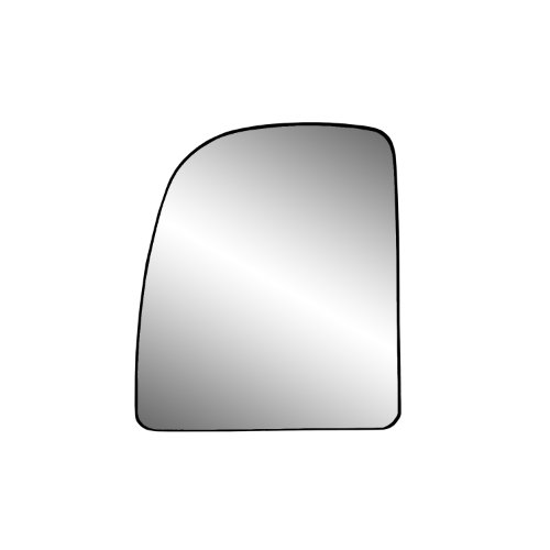 New Replacement Passenger Side Mirror Glass W Backing Compatible With E-150 Club Wagon E-250 Econoline E-250 Super Duty Sold By Rugged TUFF