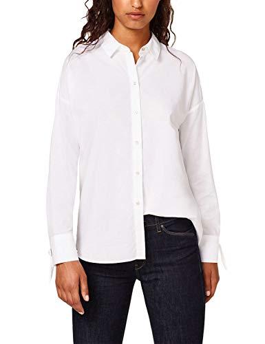 ESPRIT Hemd Frauen Übergröße L Weiß