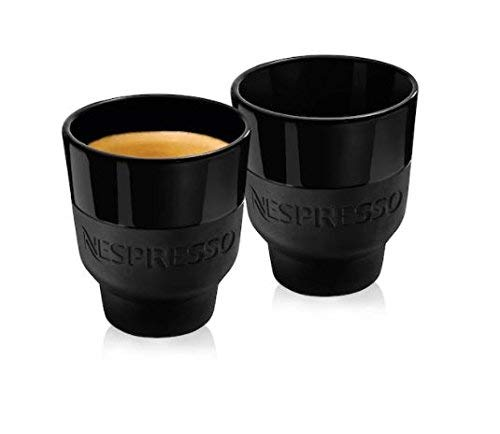 Nespresso 2 Touch Espresso Coffee Cup 80ml – Black Porcelain and Soft Touch Silicone, in Brand Box, by Berlin Design Studio Geckeler MICHELS, New