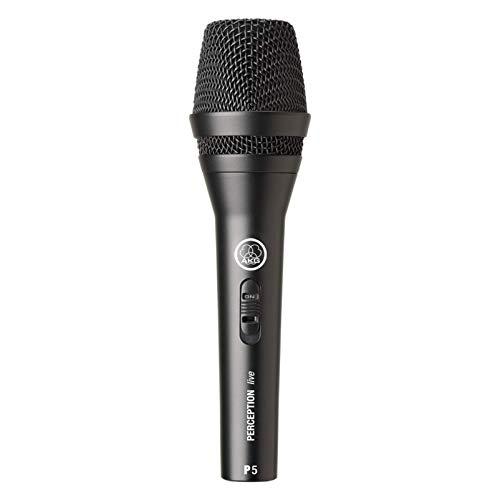 AKG P5s Professional Dynamic Live Microphone vocal avec commutateur