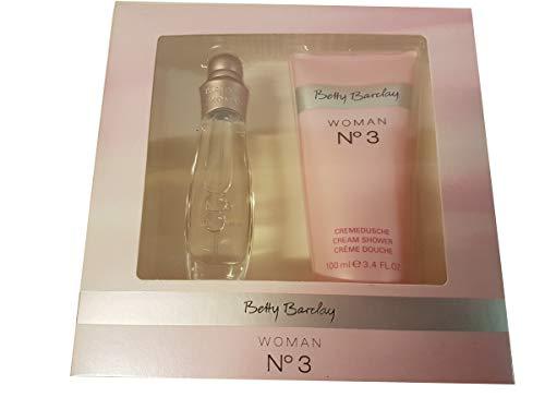 Betty Barclay Geschenkset No. 3 mit 15 ml Eau de Toilette und 100 ml Duschgel