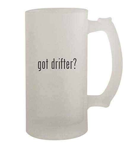 got drifter? - 16oz Frosted Beer Mug Stein, Frosted