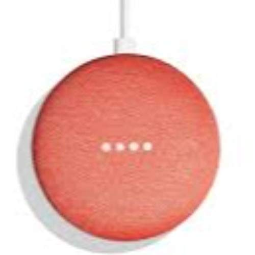 Nexus - Altavoz Inteligente Google Home Mini Coral - Altavoces - Los Mejores Precios