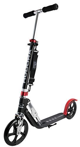 HUDORA Scooter Big Wheel 205 | Tretroller Roller mit RX Pro Technologie | Klappbarer Cityroller