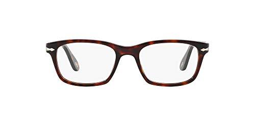 Persol 0PO3012V, Monturas de Gafas para Hombre, Marrón (Havana), 54