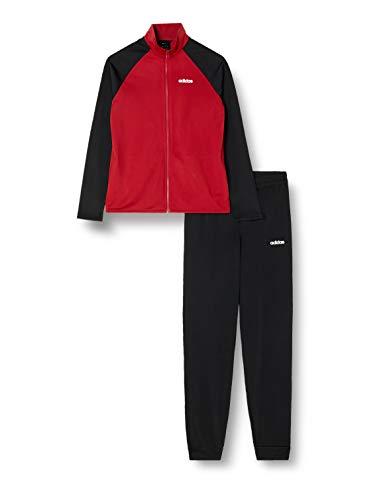 adidas CORE Jungen Trainingsanzug TS Entry Active Maroon/Black 146