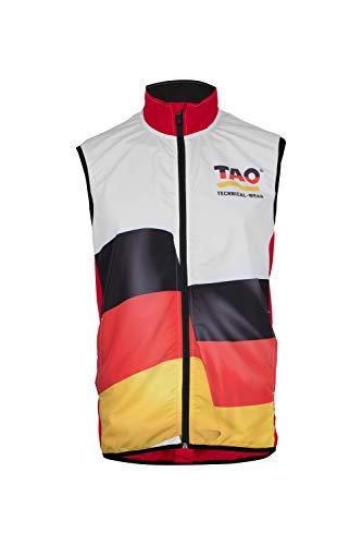TAO Sportswear Veste de Course pour l'Allemagne XXL German Red
