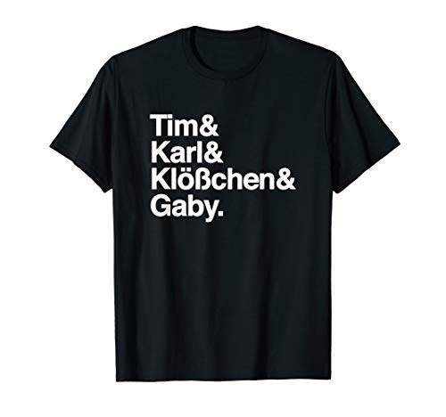 TKKG - Tim Karl Klößchen Gaby T-Shirt