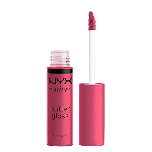 NYX PROFESSIONAL MAKEUP Butter Gloss - Strawberry Cheesecake, Warm Pink