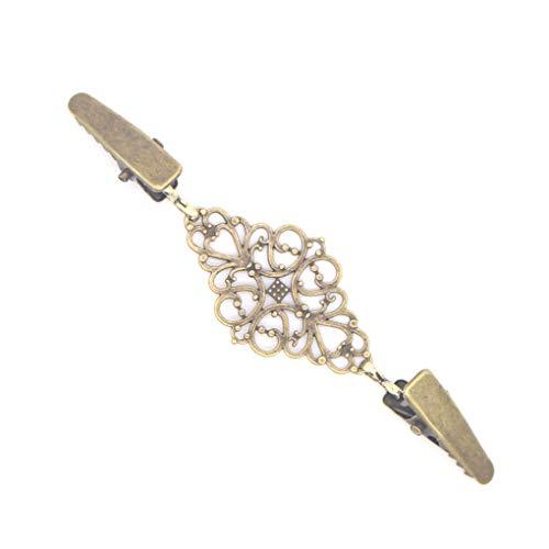 Fornateu De aleación de Mujeres Cardigan conexión de la Hebilla del Metal Clip Clips Ropa alfileres de Costura de los Corchetes de la Bufanda del Invierno