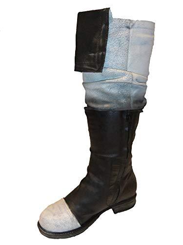 Papucei Stiefel AW 20 Tor Black-White Größe 39