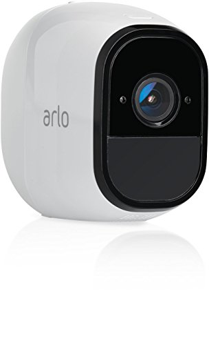 Arlo Pro by NETGEAR Add-on Security Camera - Add-on Rechargeable Wire-Free HD Camera with Audio, Indoor/Outdoor, Night Vision (VMC4030) [Existing Arlo System required] (Renewed)