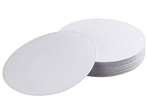 OMARK 20 Anti Rutsch Pads - Hochwertige Rutschstopper für Badewanne, Dusche, Fliesen, Treppe UVM. - enthält 20 transparente Antirutschpads