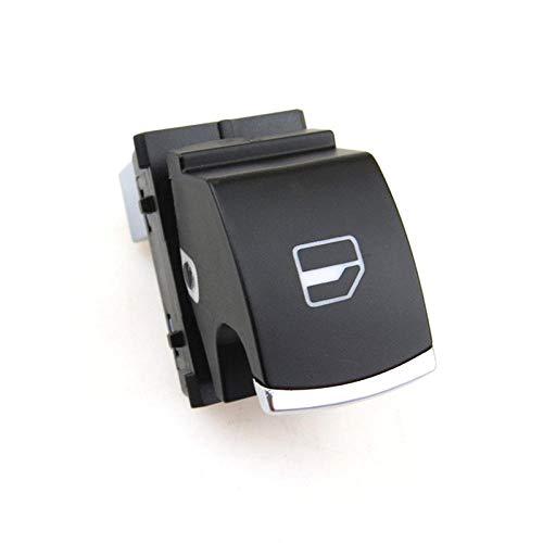 Interruptor de ventana cromado interior del coche Botón de elevación del controlador eléctrico para Passat B6 CC Golf 5 MK5 6 MK6 Tiguan Rabbit 5ND 959855-1xWindow_Switch
