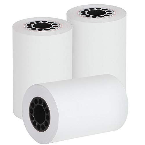 """Generic 2 1//4/"""" x 50/' Thermal Receipt Paper One roll"""