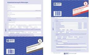 Avery Zweckform Vordruck Kaufvertrag KFZ en 4-fach, A4