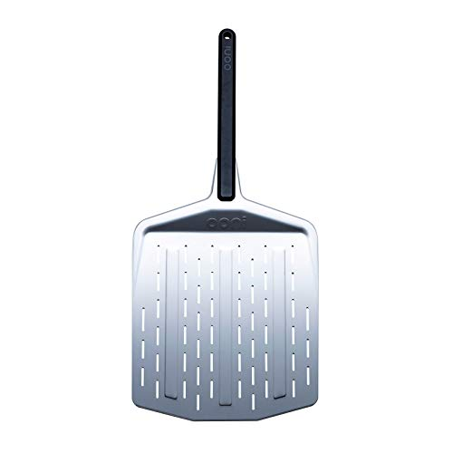 """Ooni 12"""" Perforated Pizza Peel, Pizza Paddle, Pizza Oven Accessories, Pizza Peel for Award Winning Pizza Oven"""