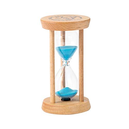 zzjj Reloj de Arena,Reloj Arena,Temporizador,3/5/10/15/30 Minutos para Hogar Niños Lavado Dientes Aula Cocina Juegos Decoración Oficina Juego Sand-Timer Minutero Temporizadores Bolsa Juguetes Ninos