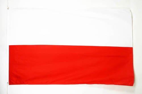 AZ FLAG Flagge Polen 90x60cm - POLNISCHE Fahne 60 x 90 cm - flaggen Top Qualität