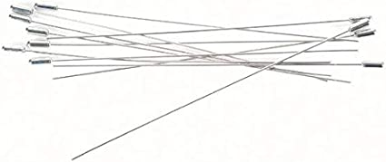Darice 1924-35 12-Piece Hat Pin Nickel Finish 6-Inch
