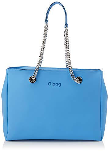 O bag Borsa Soft Mild E Melville, Pochette da giorno Donna, Blu (CELESTE), 50x14x29 cm (W x H x L)