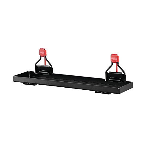 Rubbermaid Shed Accessories Small Shelf, Individual, Black