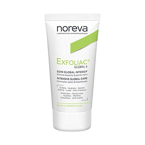 Noreva Exfoliac Global 6 - Intensivpflege für unreine Haut (1 x 30 ml)
