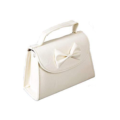 SugarShock Damen Handtasche Rockabilly Koffer Tasche, Farbe:cremé