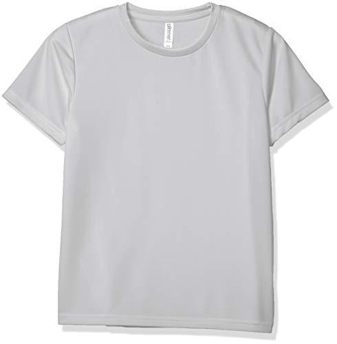 [グリマー] 半袖 4.4oz ドライ Tシャツ [UV カット] シルバーグレー L