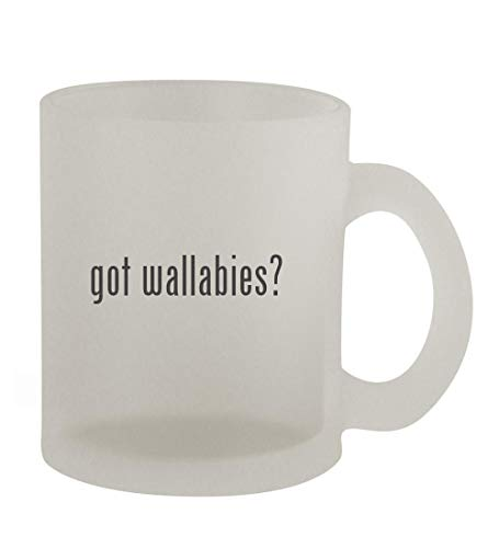 got wallabies? - 10oz Frosted Coffee Mug Cup, Frosted