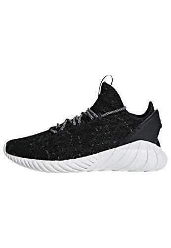 Adidas Mens Tubular Doom Sock Primeknit Shoes Black, 10.5 Mens M Width