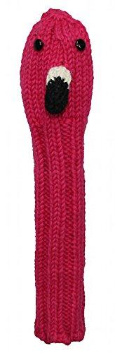 Sunfish Animal Knit Wool Hybrid Headcover Flamingo