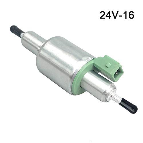 Tecla de filtro de aceite Bomba de combustible 12V 24V para 2kW a 6kW para los calentadores de Webasto Eberspacher para la bomba de combustible de aceite de camión Aparcamiento de aire Calenta