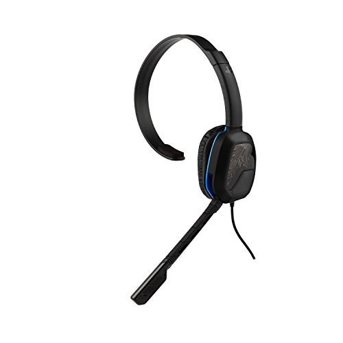 pdp audio headsets PDP Afterglow LVL 1 Chat Headset for PlayStation 4 - BLACK