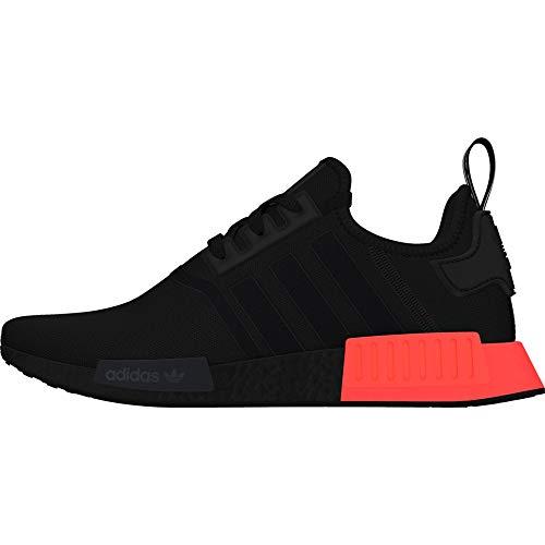 adidas Herren NMD_r1 Gymnastikschuhe, Schwarz (Core Black/Core Black/Solar Red Core Black/Core Black/Solar Red), 40 2/3 EU
