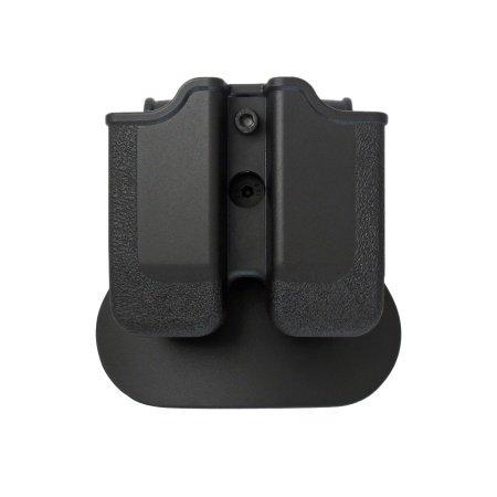 imi Defense Z2040doppio Rivista Borsa regolabile girevole Rotazione Double Magazine Polymer Pouch per Heckler e Koch H & K P30; H & K USP COMPACT (9/40), Beretta PX49mm/.40, Ruger SR9, Steyr M Series, S & W Sigma, Taurus 24/7, P della CZ 09