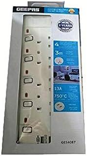 Geepas Portable Multi Socket GES4087