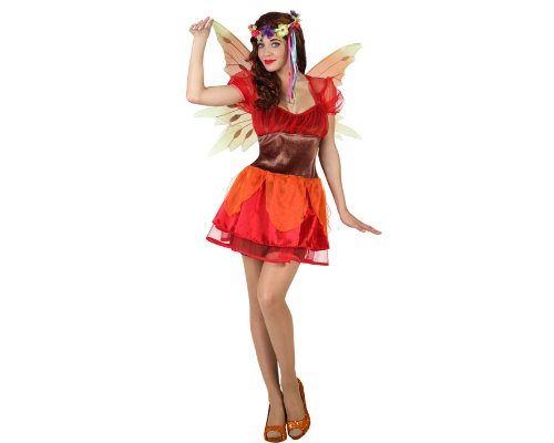 Atosa - Disfraz de hada para mujer, talla M/L (23039)
