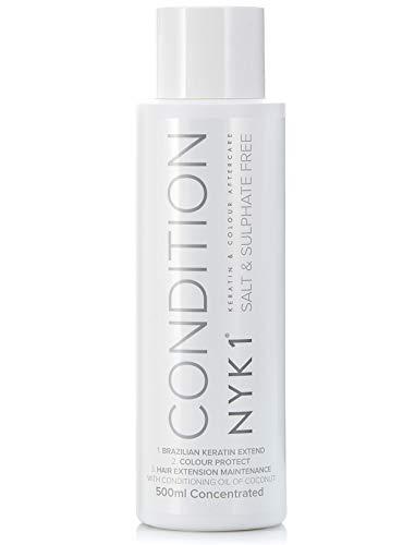 Natuurzoutvrije shampoo en conditioner voor gebruik volgens keratinebehandelingen en voor gekleurd haar naverzorging voor mannen en vrouwen.