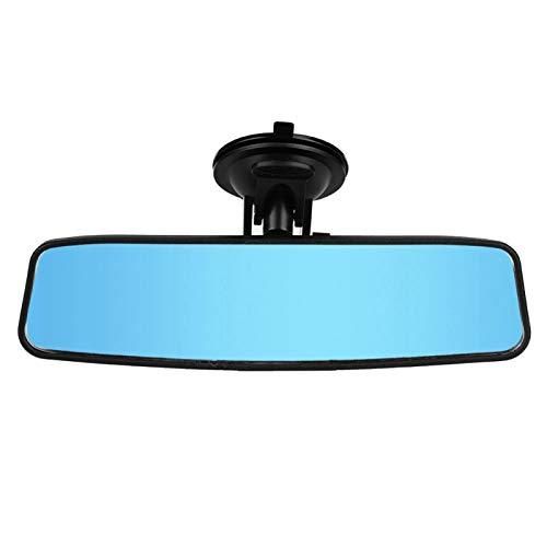 Auto-Saugspiegel, Auto-Rücksitz Baby-Rückspiegel Verstellbarer Weitwinkel-Blau-Spiegel