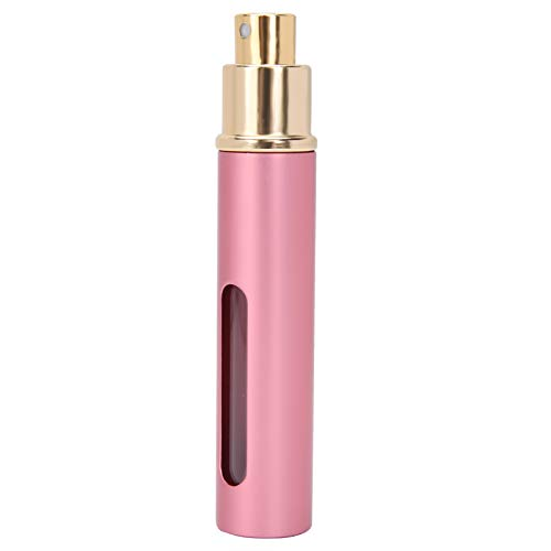 Press Perfume Bottle, Empty Perfume Bottle 10ml 4pcs for Home for Travel(AB048A powder)