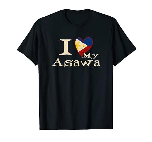I Love My Pinay Wife Filipina American Asawa Wedding T Shirt